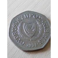 Кипр 50 центов 1994г.