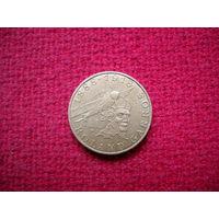 Франция 10 франк 1988 г. 100 лет со дня рождения Ролана Гарроса.