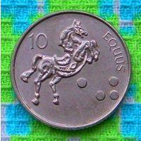 Словения 10 толар 2005 года