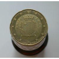 20 евроцентов 2008 Мальта