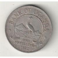 Уганда 1 шиллинг 1972