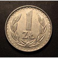 Польша, 1 злотый 1985 год (есть с 1949 по 1990)