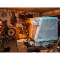 Самодельный дизельный трактор с мотором от Т-25 Торг
