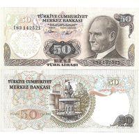 Турция 50 лир образца 1976 года UNC P188a