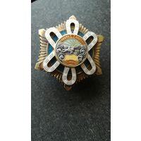 Монголия. Орден Полярной Звезды, номерной, серебро.