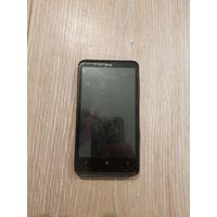 Смартфон HTC HD7, без батареи, в хорошем рабочем состоянии. Оперативная система Windows Phone 7. Устаревшая модель. Экран в замечательном состоянии, всегда был под плёнкой.