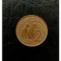 2 цента Новой Зеландии 1967 года