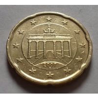 20 евроцентов, Германия 2007 G