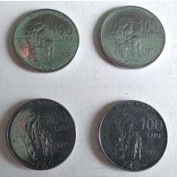 Италия 100 лир, 1979 Продовольственная программа - ФАО  5-11-1*4