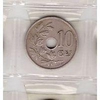10 сантимов 1921 Бельгия (Belgique). Возможен обмен