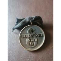 Медаль( 8лет выслуги сс) Германия