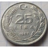 Турция 25 лир, 1987     ( 5-9-4 )