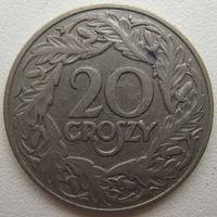 Польша 20 грошей 1923 г.