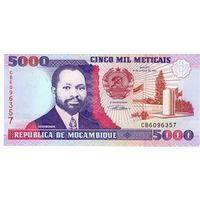 Мозамбик, 5 000 метикал, 1991 г., UNC