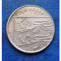 Великобритания 10 пенсов 2008