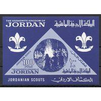 Скауты Иордания 1964 год 1 чистый блок (М)