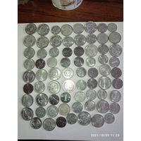 Монеты КНР с рубля.