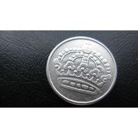 Швеция 25 эре 1953 ( серебро )