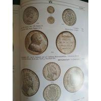 Высококачественный каталог серебряных монет аукцион KUNKER нумизматикa Германия и страны мира