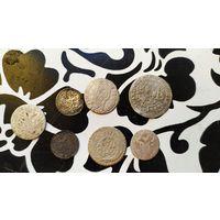 Лот серебряных монет.с рубля