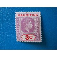 Маврикий. 1938 г. Мi-219. Георг VI.