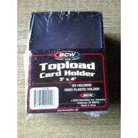 Упаковка Жестких протекторов с чёрным обрамлением.