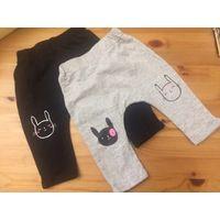 Клевые штанишки Lcwaikiki на 6-9 месяцев, хлопок, два цвета: черные и серые. Удобно носить под памперс. Б/у совсем мало, поздно купили, не успели носить. Продаю парой.