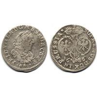 6 грошей (шостак) 1686 BA, Германия, Фридрих Вильгельм