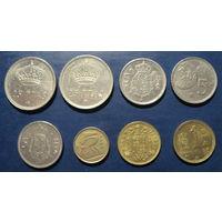 Испания, набор монет2