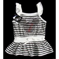 """Маечка (не платье!) фирмы """"White Point"""" (оригинал) для девочки 3-4 лет, куплена за границей, новая, отличного качества, в единственном экземпляре в Беларуси, очень мякенький трикотажный 100% хлопок с"""