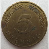 Германия 5 пфеннигов 1981 (D) г.