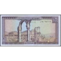 10 ливров 1986г. UNC