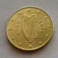 10 евроцентов, Ирландия 2014 г.
