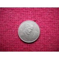 Мексика 20 центаво 1978 г.