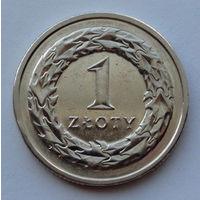 Польша 1 злотый. 2014