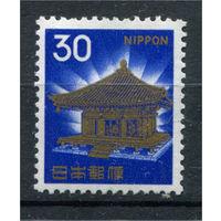 Япония - 1968г. - Храм - полная серия, MNH [Mi 993] - 1 марка