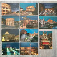 Набор почтовых карточек достопримечательности (1)