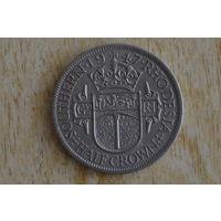 Южная Родезия 1/2 кроны 1947