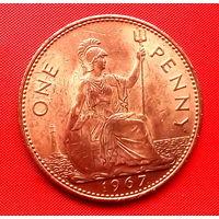 40-21 Великобритания, 1 пенни 1967 г.