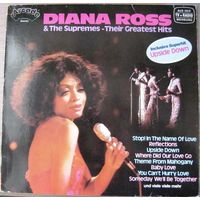 Diana Ross & The Supremes - Their Greatest Hits 1980, LP