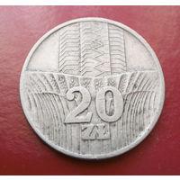 20 злотых 1974 Польша #01