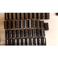 Электролитические конденсаторы 220 мкФ 450 в (комплект-42 шт.)