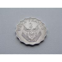 Руанда. 2 франка 1970 год  KM#10