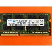 SO-DIMM DDR3  4GB   оперативная память для ноутбука