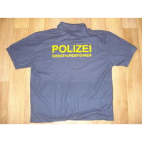 Тениска полиции Германии (шеф кинологов) новая!