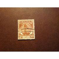 Малайские штаты  1949 г.Штат Селангор .Султан Хисамуддин Алам Шах.