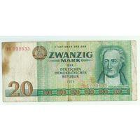 Германия, 20 марок 1975 год