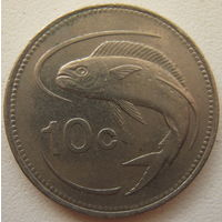 Мальта 10 центов 1992 г. (g)