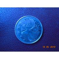 Канада 25 центов 2011