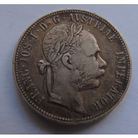 Авсро-Венгрия 1 флорин 1888